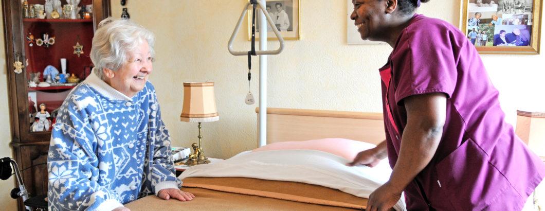 Aide ménagère residence bien etre Quietelle